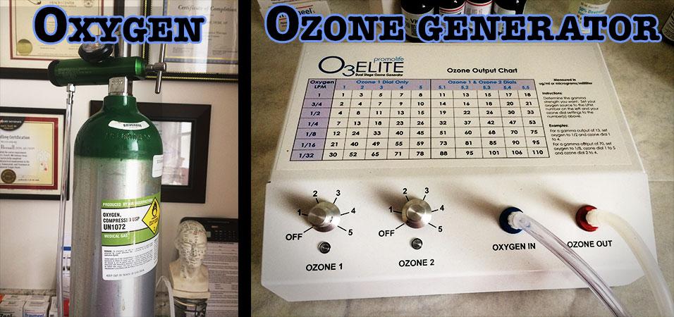 Oxygen - Ozone generator